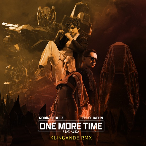 poster for One More Time (feat. Alida) [Klingande Remix] - Robin Schulz & Felix Jaehn