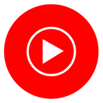 logo for YouTube Music - Stream Songs & Music Videos