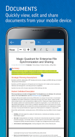 screenshoot for SmartOffice - View & Edit MS Office Files & PDFs