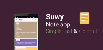 graphic for Suwy: notepad, notebook & memo 1.7.3
