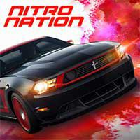 logo for Nitro Nation Drag Racing Unlimited Booster