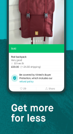screenshoot for Vinted - sell & buy second-hand fashion