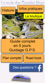 screenshoot for La route des Grandes Alpes Motofree