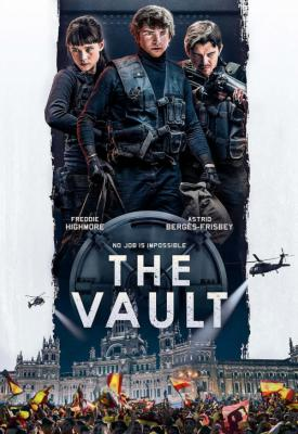 poster for The Vault 2021