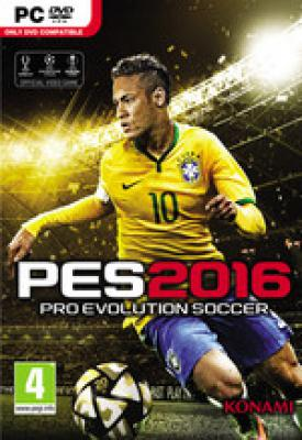poster for Pro Evolution Soccer 2016 v1.05 + Data Pack 4.0