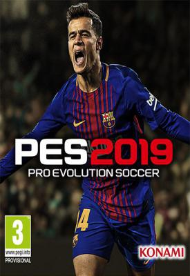 poster for Pro Evolution Soccer 2019 v1.02.00 + Data Pack 2.00 + All Commentaries