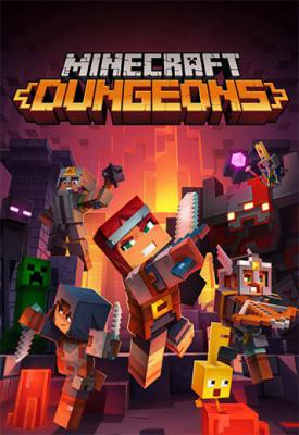 poster for Minecraft Dungeons v1.8.0.0_5460008 + 4 DLCs + Multiplayer