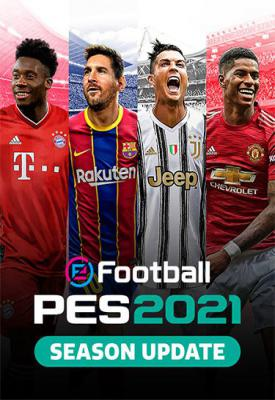 poster for eFootball PES 2021 Season Update v1.01.00 Data Pack 1.00