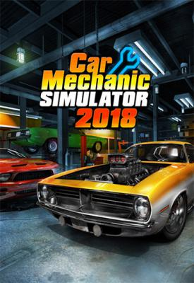 poster for Car Mechanic Simulator 2018 v1.5.15 Hotfix 1 + 9 DLCs