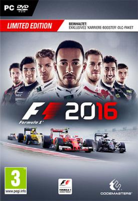 poster for F1 2016 v1.8.0 + DLC + Multiplayer Cracked