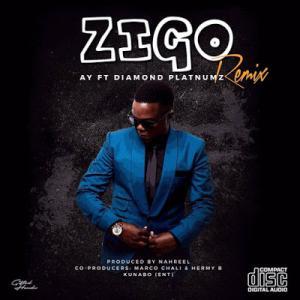 poster for Zigo (remix) - AY Ft. Diamond Platnumz