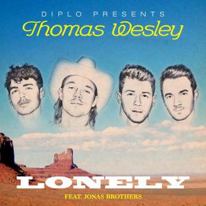 poster for Lonely - Diplo & Jonas Brothers
