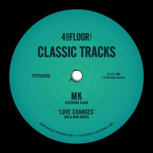 poster for Love Changes (feat. Alana) (MK Mix) - MK