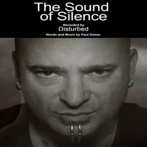 poster for The sound of silence - disturbed
