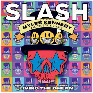 poster for Driving Rain (feat. Myles Kennedy & The Conspirators) - Slash