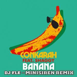 poster for Banana (feat. Shaggy) (DJ FLe - Minisiren Remix) - Conkarah