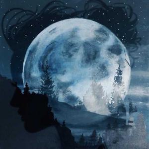 poster for Moonlight - Ali Gatie