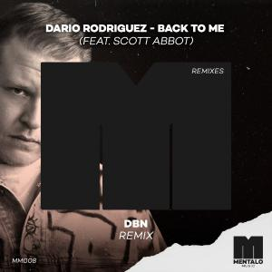 poster for Back to Me (feat. Scott Abbot) [DBN Remix] - Dario Rodriguez