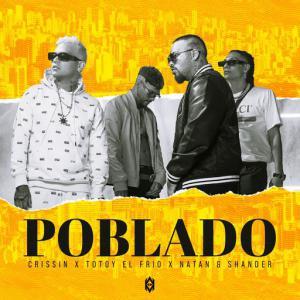 poster for Poblado - Crissin, Totoy El Frio, Natan & Shander