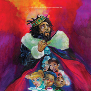 poster for KOD - J. Cole