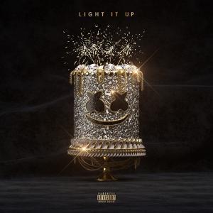 poster for Light It Up - Marshmello, Tyga & Chris Brown