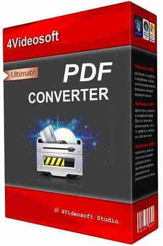 Image for 4Videosoft PDF Converter Ultimate