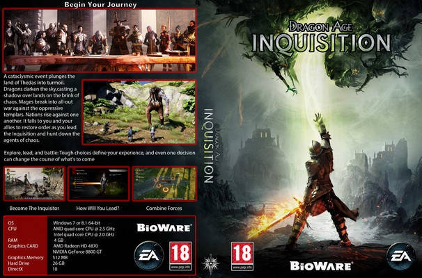 Dragon Age Inquisition Deluxe Edition cracked