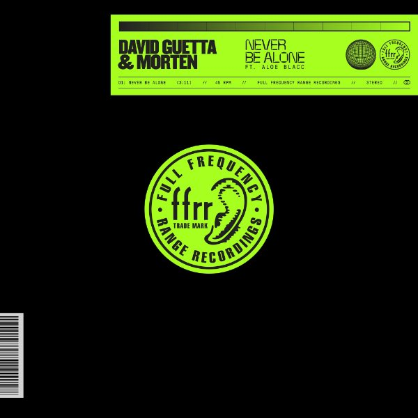 Never Be Alone (feat. Aloe Blacc) - David Guetta & MORTEN 2019