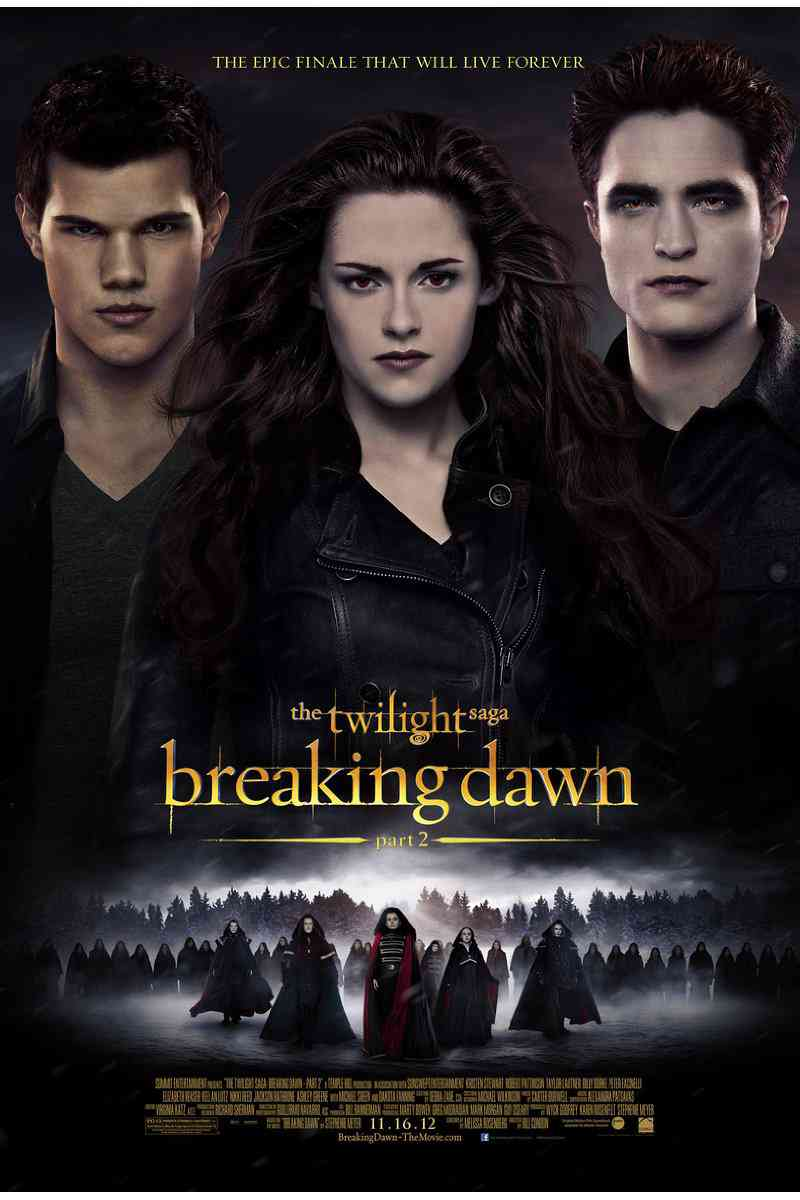 The Twilight Saga: Breaking Dawn Part 2  2012