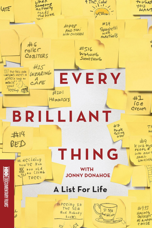 Every Brilliant Thing 2016