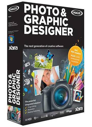 Image for Xara Photo and Graphic Designer 365