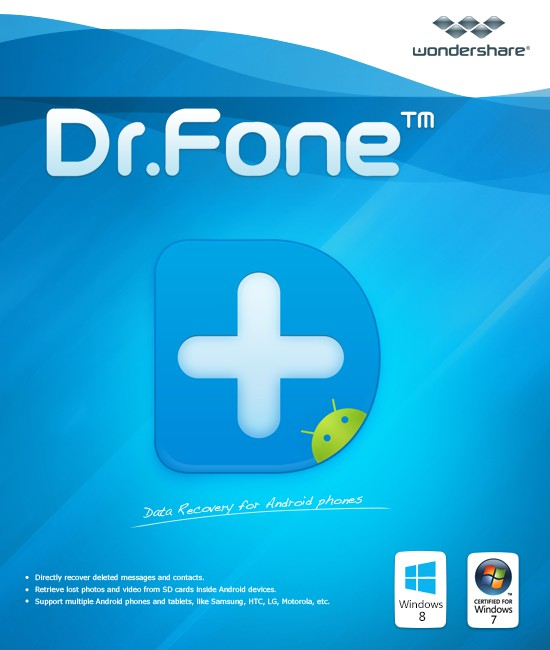 Image for Wondershare Dr.Fone Toolkit for iOS and Android