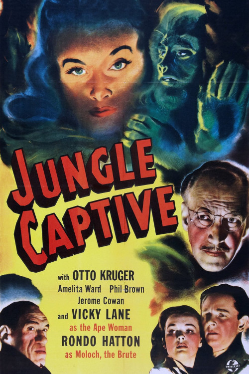 The Jungle Captive 1945
