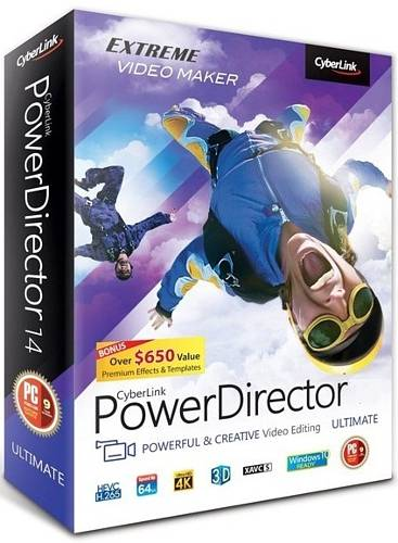 Image for CyberLink PowerDirector Ultra